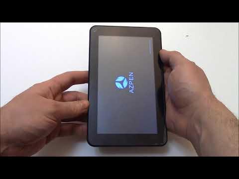 How To Hard Reset An Azpen A727 Tablet