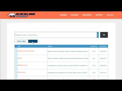 Backlink Rhino  - Watch this tool use the power of wikipedia to rank you in Google