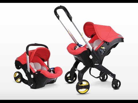 The Doona Infant Car Seat Stroller