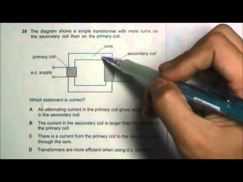 2013 O' Level Physics 5058 Paper 1 Solution Qn 36 to 40
