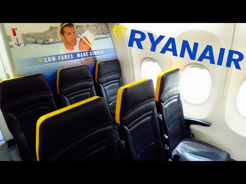 TRIP REPORT | RYANAIR (NEW CABIN) | Madrid Barajas to Glasgow | Full flight with meal!