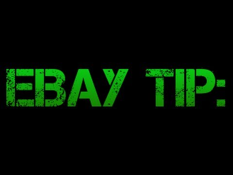 Selling Clothing on eBay - Tip For Listing FASTER
