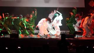 Tribute to motherland India - Shiamak Summer Funk - London 2014