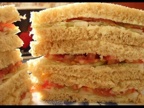 Tomato Cucumber Sandwich | POPULAR INDIAN RECIPES | QUICK RECIPES