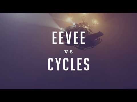 Blender's Cycles vs. Eevee (Ray Tracing vs. Real Time)