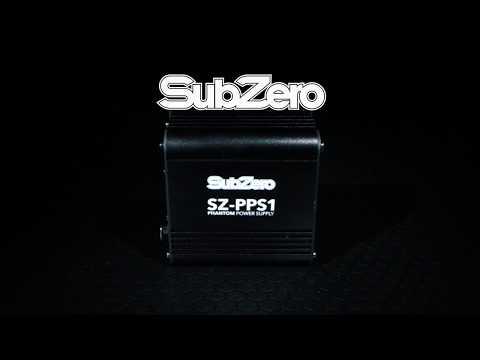 SubZero SZ-PPS1 Phantom Power Supply | Gear4music demo