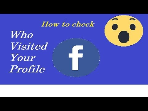 How to check who visited on our Facebook Profile.