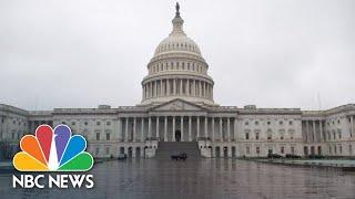 Senate votes on coronavirus stimulus package | NBC News (Live Stream Recording)