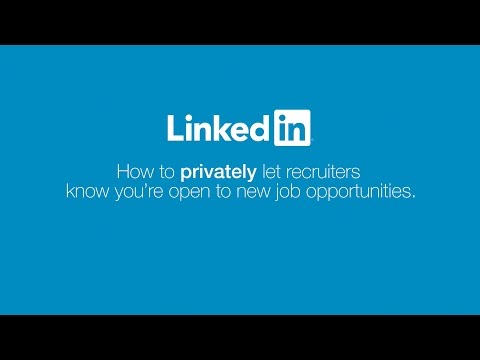 LinkedIn Open Candidates | Signal You're Open To Job Opportunities