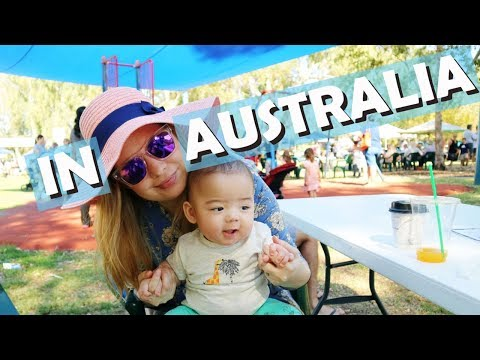 OUR BABY'S FIRST TIME AT AUSSIE MARKETS