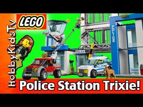 LEGO City Set 60047 Station! Build With Trixie HobbyKidsTV