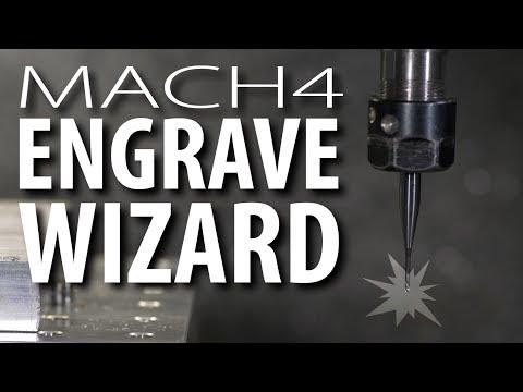 Easy CNC Engraving (Mach4)