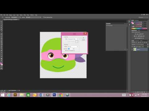 How to change a color in your clip art using Photoshop