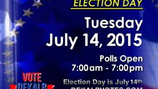 Dekalb Special Elections Commission Dist 5 House Dist 80 Psa