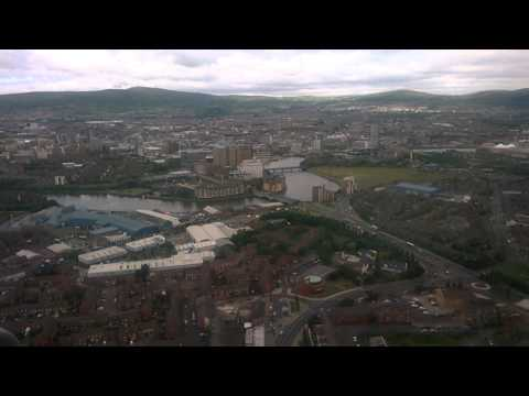 Flying into Belfast City Airport