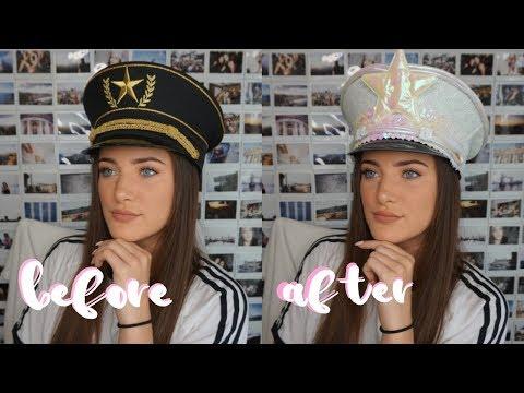 DIY   Festival Captain Hat