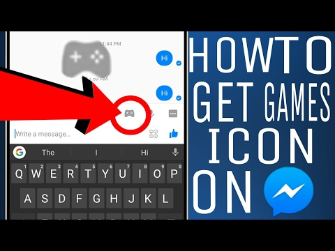 How to get Game Icon on Messenger! HIDDEN Tricks(Hindi)