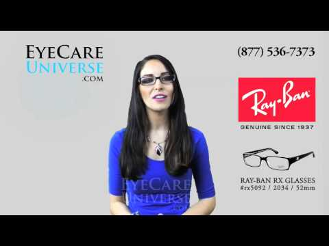 Ray Ban RX5092 2034 52mm Review
