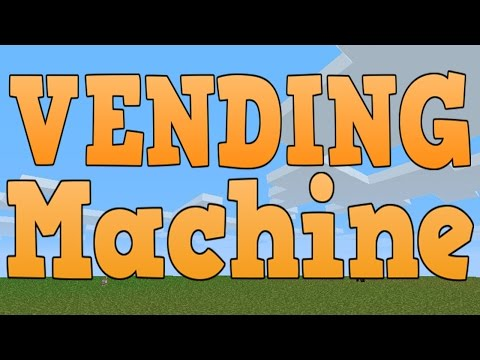 Minecraft Xbox 360, PS3 & Wii U - Simple Machines Ep.5 Vending Machine!