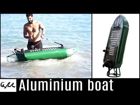 Gasoline engine aluminium boat