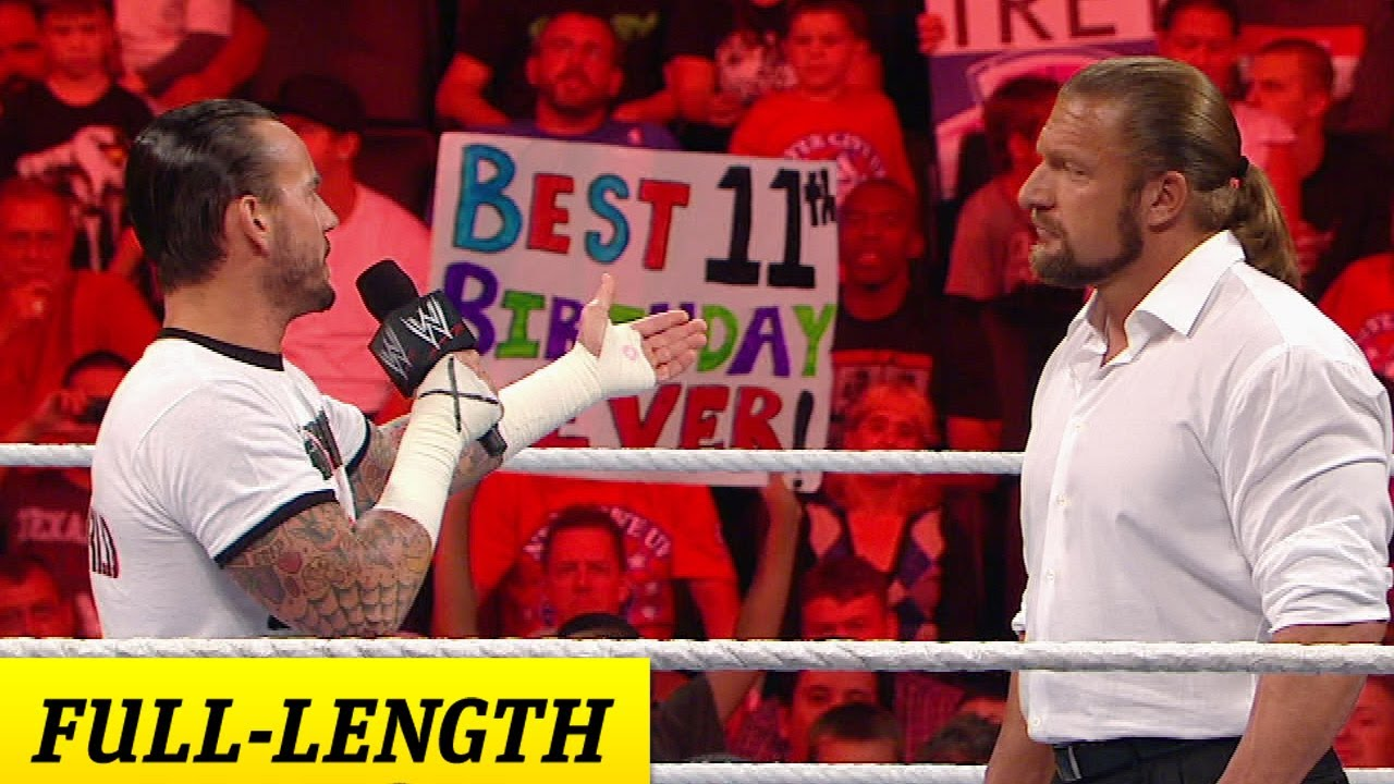 FULL-LENGTH - Raw - Raw goes on strike
