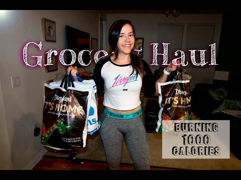 How To Burn 1,000 Calories On The Treadmill | Grocery Haul | Protein Pancake Recipe