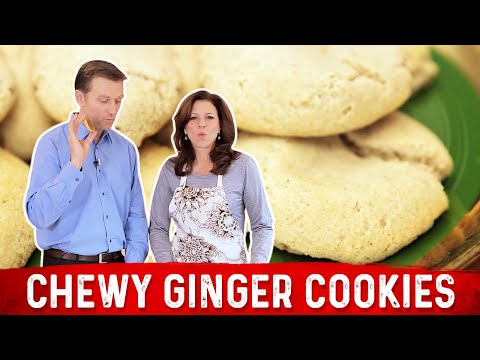 Chewy Ginger Cookies: Low Carb & Keto Friendly