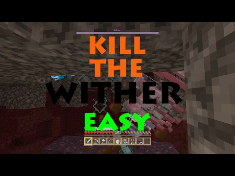 How to Easily Kill the Wither in Console Minecraft