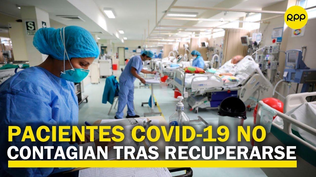 Estudio revela que enfermos de COVID-19 no contagian tras recuperarse