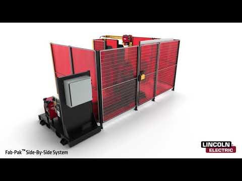 Fab-Pak FHS S2S Robotic Welding Cell