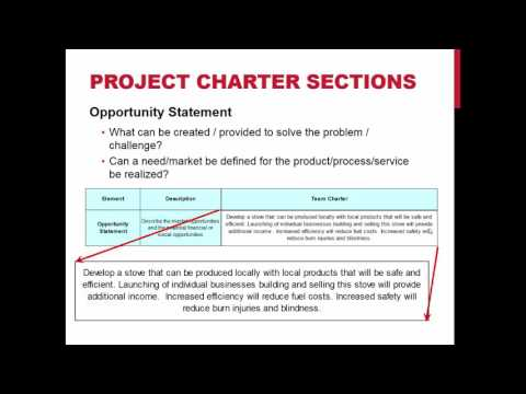 Project Charter 2016