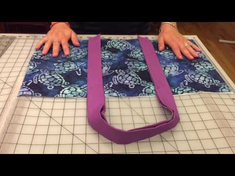 How to Make an AWESOME Weekender Beach Bag - in 30 minutes!