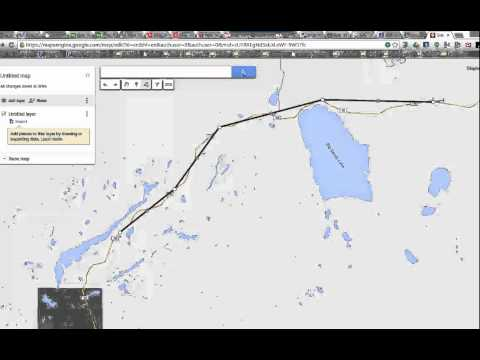 Google Maps - drawing lines