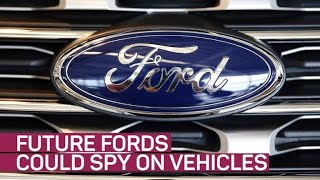 Future Ford cars could spy on other vehicles (CNET News)