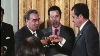 """""""Brezhnev's Visit"""" - Signing Agreements"""