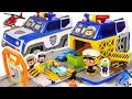 Witches And Villains Appeared Pororo Transformation Police Cars Fire Trucks Go DuDuPopTOY