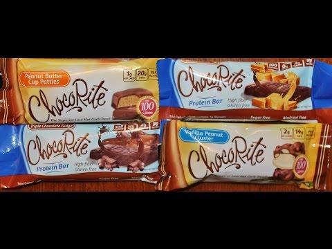 ChocoRite: Peanut Butter Cup Patties, Triple Chocolate Fudge, Salted Caramel, Vanilla Peanut Cluster
