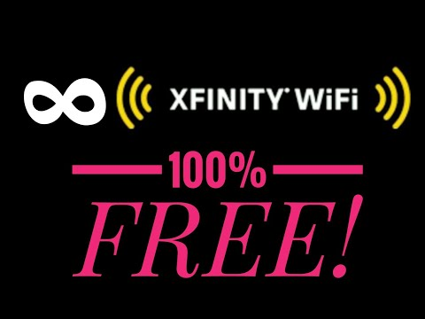How to Get UNLIMITED Xfinity WiFi FREE! 2018