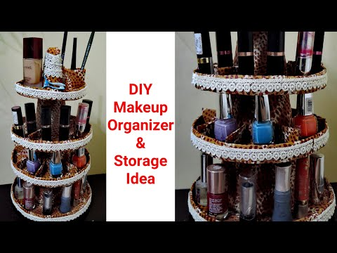Diy Makeup Organization and Storage | DIY Organizer