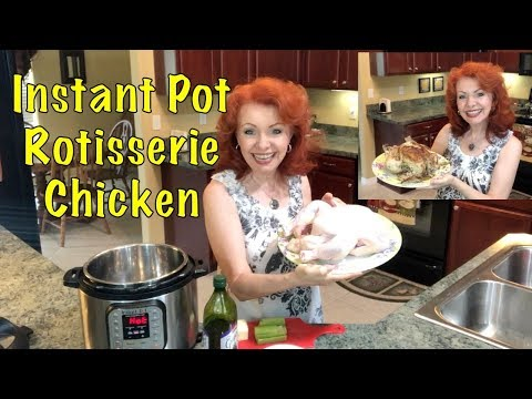 Instant Pot Whole Chicken Rotisserie Style