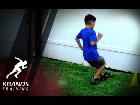 Speed Training For Youth | Teaching Kids How To Run Faster
