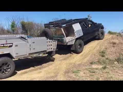 Off-road Camper Trailer - Modcon FF1 Series III (mention this video & receive $250 off purchase)