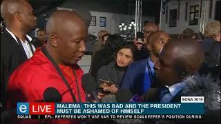 Ramaphosa's speech his own imagination: EFF
