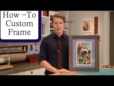 Decorate A Picture Frame With Recycled Magazine Magazine Cover