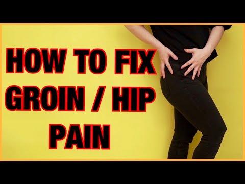 HOW TO FIX GROIN/HIP PAIN? TIGHT HIP FLEXOR!