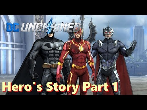 DC:  Unchained (by Four Thirty Three) - Hero's Story Part 1 - Gameplay - iOS / Android