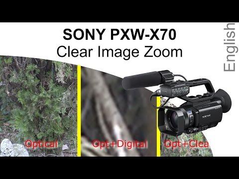 Sony PXW-X70 Clear Image Zoom (English)