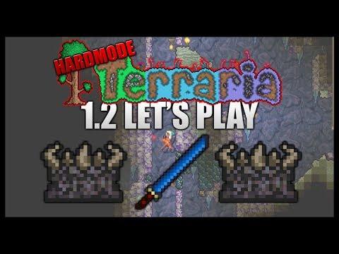 Cobalt Swords! Destroying Demon Altars! || Let's Play Terraria 1.2 HARDMODE [Episode 22]