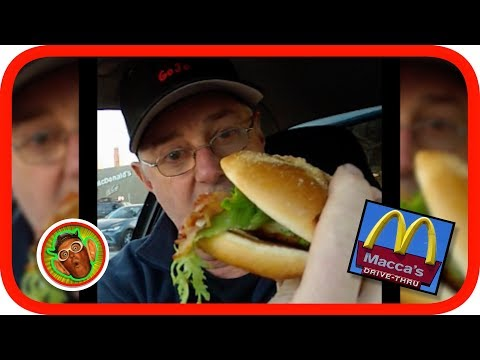 McDonalds Gourmet CHICKEN Caesar Burger / Sandwich Review