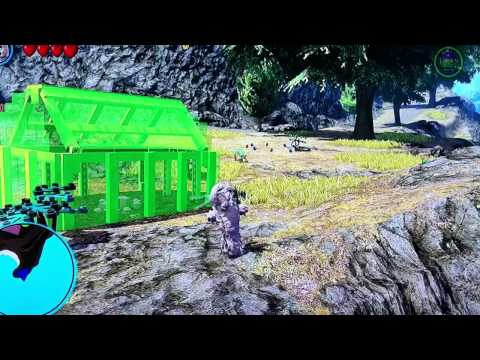 Lego marvel super heroes how 2 get gold brick in green house